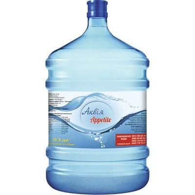 Вода Аквия Appetite